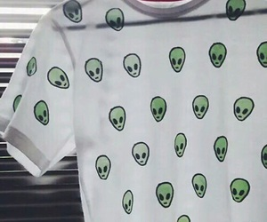 alien, grunge, and clothes image