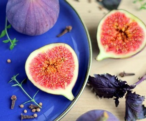 fig, food, and fruit image
