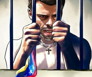 lucha, venezuela, and leopoldo image