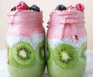 colorful, kiwi, and food image