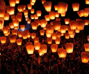 light, chinese, and lantern image