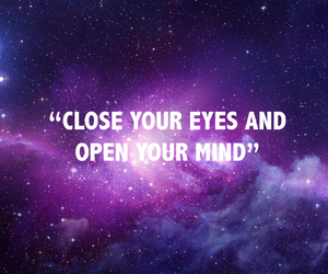 quote, text, and eyes image