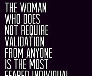 woman, quote, and fear image