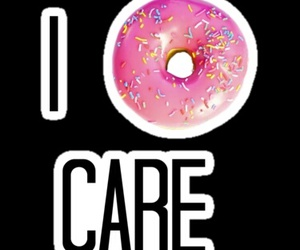donuts, care, and food image