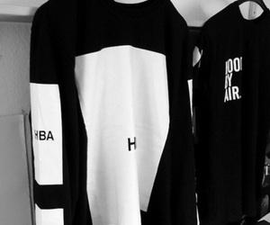 black, white, and hba image