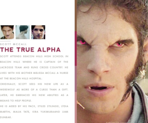 teen wolf, tyler posey, and true alpha image