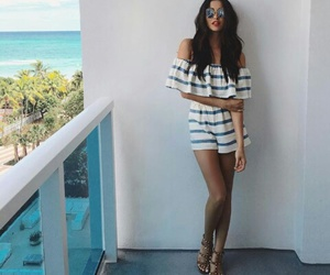 beach, holiday, and outfit image