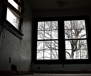 abandoned house, black and white, and canon camera image