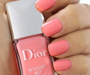 nails, dior, and nail polish image