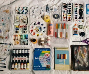 art, paint, and indie image