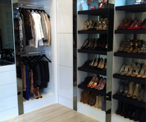 beauty, closet, and clutch image