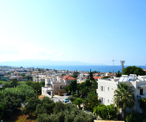 crete, Greece, and sun image