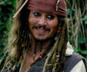 johnny depp, jack sparrow, and sexy image