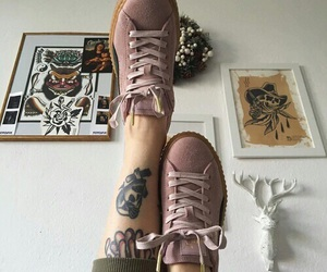 shoes, tattoo, and tumblr image