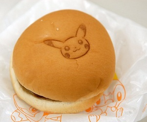 pikachu, pokemon, and burger image