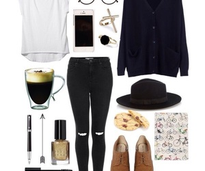 grunge, hipster, and outfit image