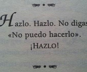 frases, hazlo, and book image
