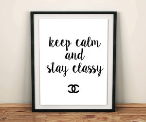 etsy, vintage chanel, and chanel quotes image