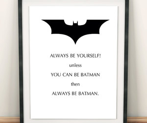 etsy, batman ornament, and superhero wall art image