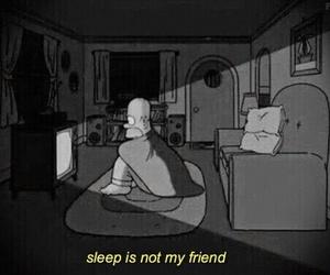 sleep, grunge, and homer image