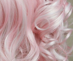 hair, pink, and pink hair image