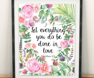 etsy, christian quotes, and 1 corinthians image
