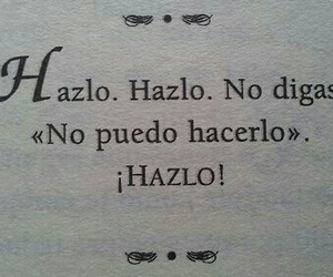 hazlo, frases, and book image