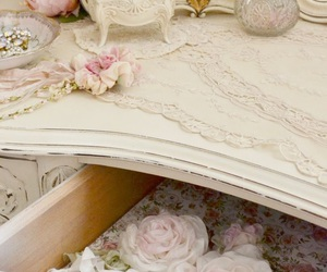 decor, romantic, and shabby chic image