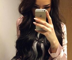 beauty, brunette, and luxury image
