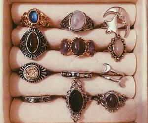 rings, vintage, and jewelry image