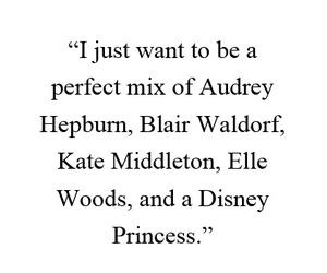blair waldorf, quotes, and audrey hepburn image