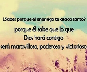 god, quotes, and spanish image