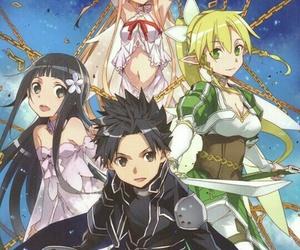 sword art online, sao, and anime image