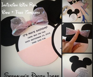 crafts, minnie, and parties image