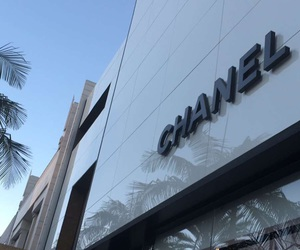Beverly Hills, chanel, and rodeo dr image