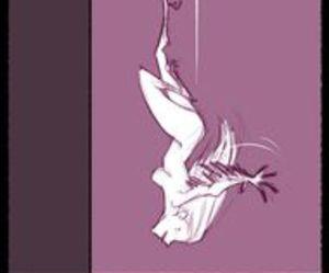 bird, girl, and fukari image