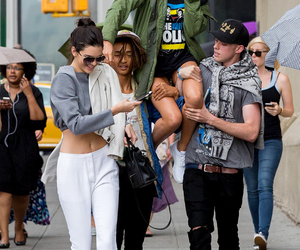 kendall jenner, harry hudson, and jaden smith image