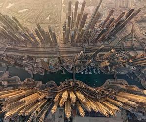 city, Dubai, and travel image
