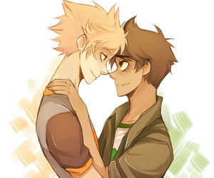 bl, dirk, and homestuck image