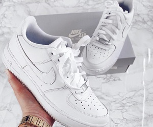 nike, air force, and fashion image
