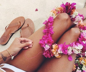 beach, beautiful., and legs image