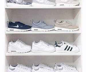 nike, adidas, and shoes image