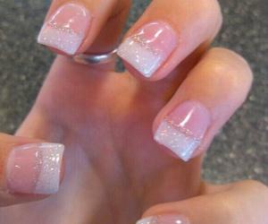 nail polish and french nail tips image