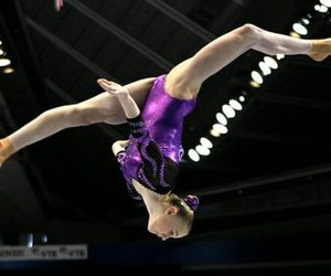 brown, Georgia, and gymnastics image