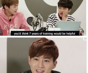 exo, suho, and funny image