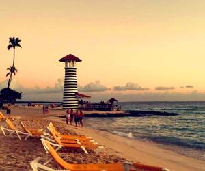 beach, playa, and punta cana image