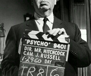 Psycho, alfred hitchcock, and Hitchcock image