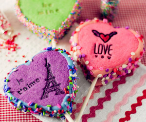 love, food, and candy image