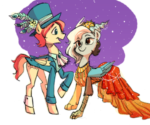 butterscotch, MLP, and my little pony image