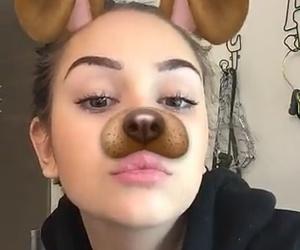 babe, beautiful, and dog image
